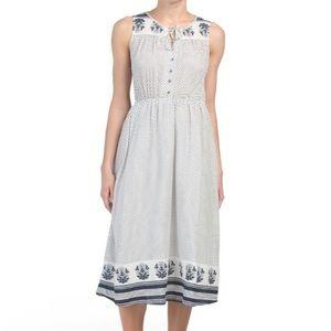 Lucky Brand🌸Polka dot dress